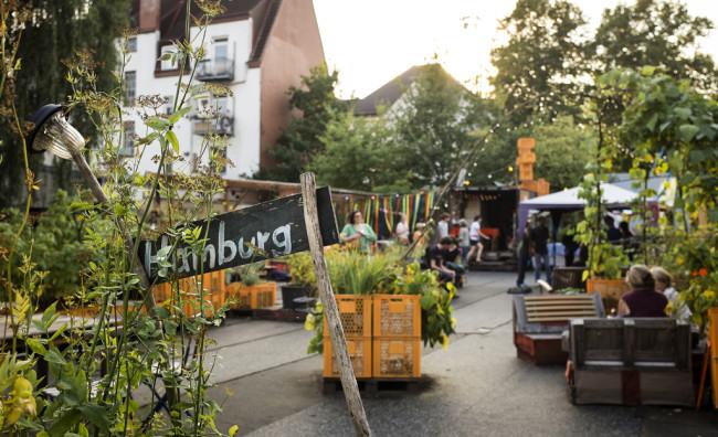 Gartendeck St.Pauli 2014